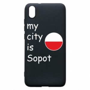 Etui na Xiaomi Redmi 7A My city is Sopot
