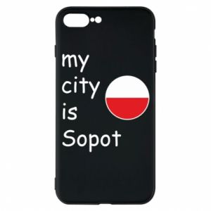 Etui na iPhone 7 Plus My city is Sopot