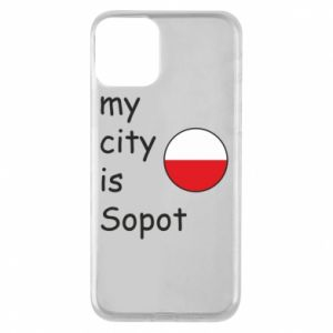 Etui na iPhone 11 My city is Sopot