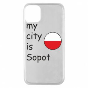 Etui na iPhone 11 Pro My city is Sopot