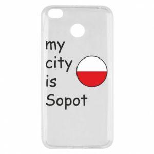 Xiaomi Redmi 4X Case My city is Sopot