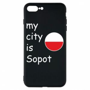 Etui na iPhone 8 Plus My city is Sopot