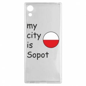 Sony Xperia XA1 Case My city is Sopot