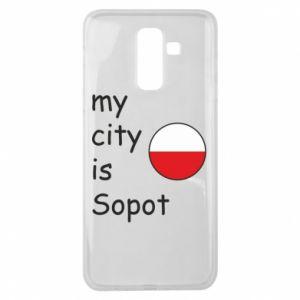 Samsung J8 2018 Case My city is Sopot