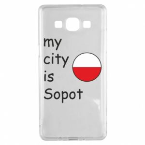 Samsung A5 2015 Case My city is Sopot