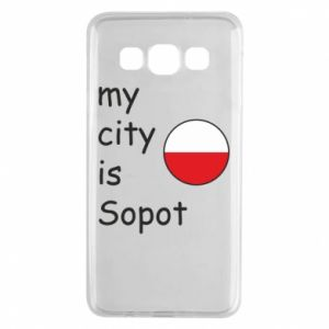 Samsung A3 2015 Case My city is Sopot