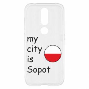 Nokia 4.2 Case My city is Sopot