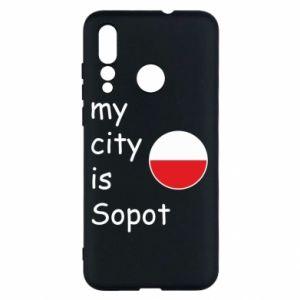 Huawei Nova 4 Case My city is Sopot