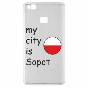 Huawei P9 Lite Case My city is Sopot