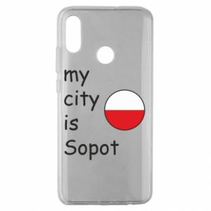 Huawei Honor 10 Lite Case My city is Sopot