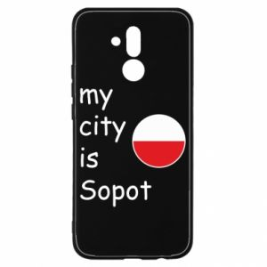 Huawei Mate 20Lite Case My city is Sopot
