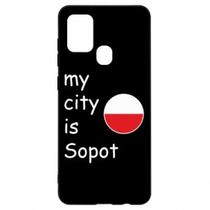 Samsung A21s Case My city is Sopot