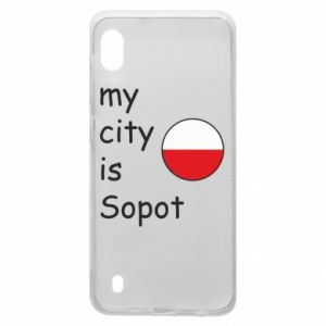 Samsung A10 Case My city is Sopot
