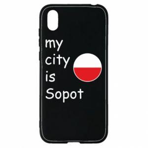 Huawei Y5 2019 Case My city is Sopot