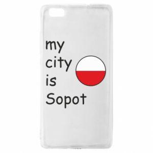 Huawei P8 Lite Case My city is Sopot