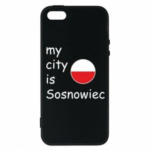 Phone case for iPhone 5/5S/SE My city is Sosnowiec