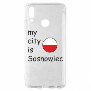 Huawei P Smart 2019 Case My city is Sosnowiec