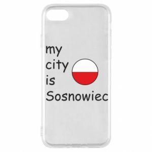 iPhone SE 2020 Case My city is Sosnowiec