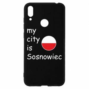 Huawei Y7 2019 Case My city is Sosnowiec