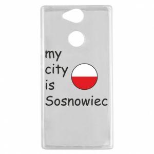 Sony Xperia XA2 Case My city is Sosnowiec