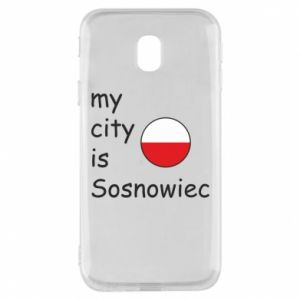 Phone case for Samsung J3 2017 My city is Sosnowiec