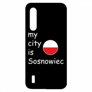 Xiaomi Mi9 Lite Case My city is Sosnowiec