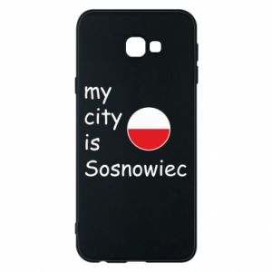 Phone case for Samsung J4 Plus 2018 My city is Sosnowiec