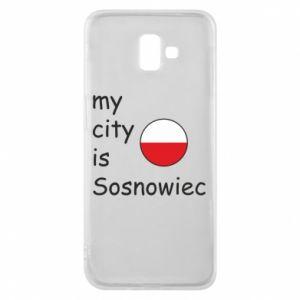 Phone case for Samsung J6 Plus 2018 My city is Sosnowiec