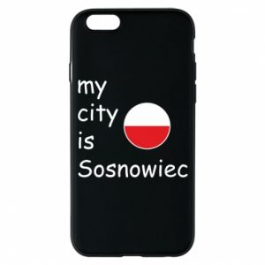 Phone case for iPhone 6/6S My city is Sosnowiec