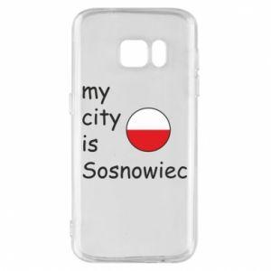 Etui na Samsung S7 My city is Sosnowiec