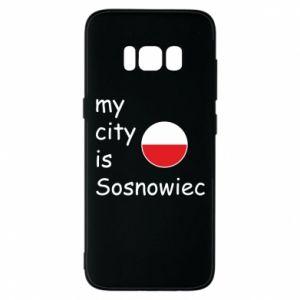Etui na Samsung S8 My city is Sosnowiec