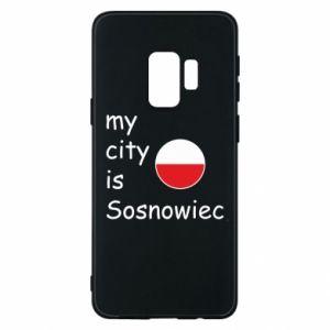 Etui na Samsung S9 My city is Sosnowiec
