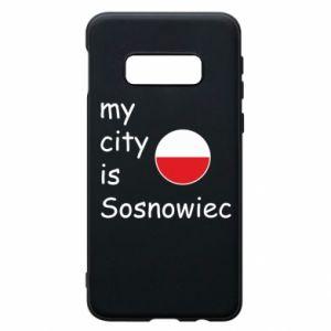 Etui na Samsung S10e My city is Sosnowiec