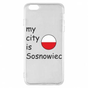 Etui na iPhone 6 Plus/6S Plus My city is Sosnowiec