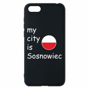 Phone case for Huawei Y5 2018 My city is Sosnowiec