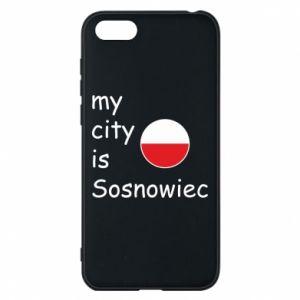 Etui na Huawei Y5 2018 My city is Sosnowiec