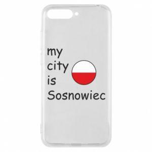 Etui na Huawei Y6 2018 My city is Sosnowiec