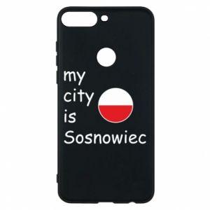 Etui na Huawei Y7 Prime 2018 My city is Sosnowiec