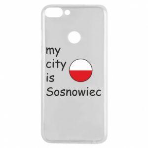 Etui na Huawei P Smart My city is Sosnowiec