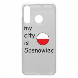 Etui na Huawei P30 Lite My city is Sosnowiec