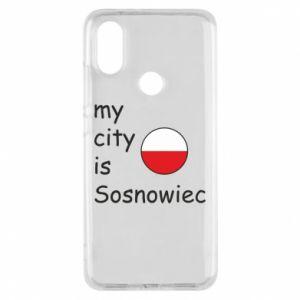 Etui na Xiaomi Mi A2 My city is Sosnowiec