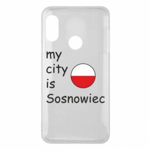 Etui na Mi A2 Lite My city is Sosnowiec