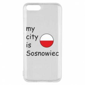 Etui na Xiaomi Mi6 My city is Sosnowiec