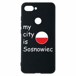 Etui na Xiaomi Mi8 Lite My city is Sosnowiec
