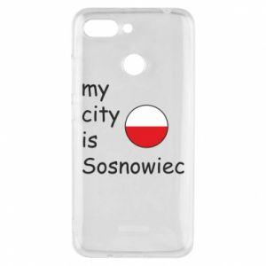 Etui na Xiaomi Redmi 6 My city is Sosnowiec
