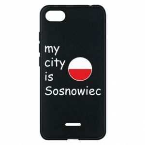 Phone case for Xiaomi Redmi 6A My city is Sosnowiec
