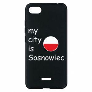 Etui na Xiaomi Redmi 6A My city is Sosnowiec