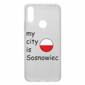 Etui na Xiaomi Redmi 7 My city is Sosnowiec