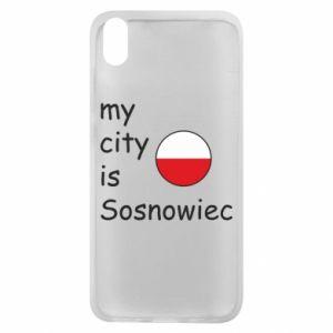 Etui na Xiaomi Redmi 7A My city is Sosnowiec