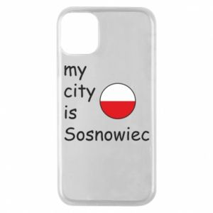 Phone case for iPhone 11 Pro My city is Sosnowiec